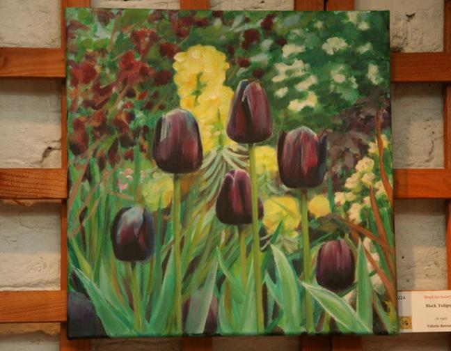 Black Tulips - Valeria Bateson
