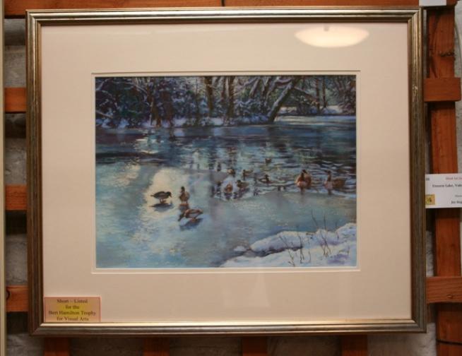 Frozen Lake, Valentines Park - Joy Regan