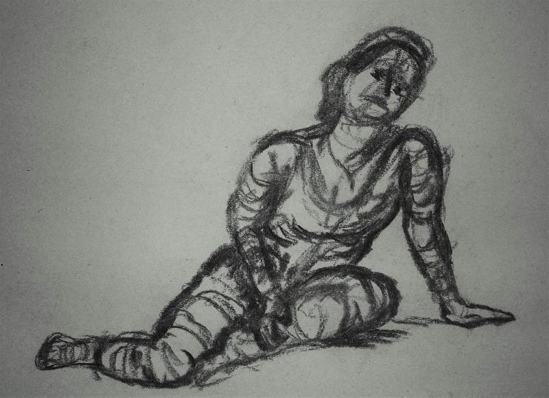 Figure Study, by David Fallows