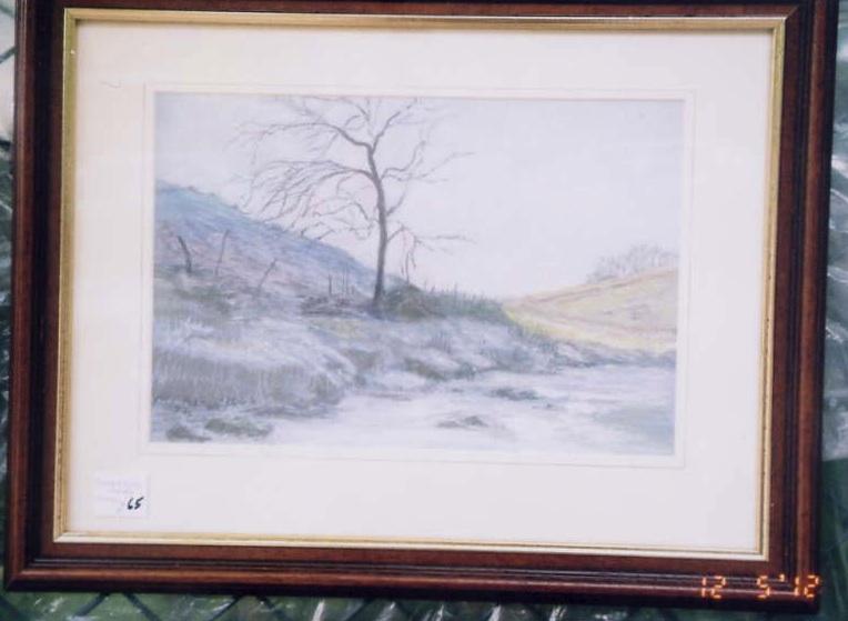 Misty River, Scotland - June Martin